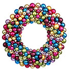 36-inch Ornament Ball Wreath