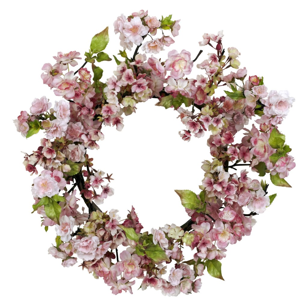 How to decorate with a spring wreath How to decorate a wreath