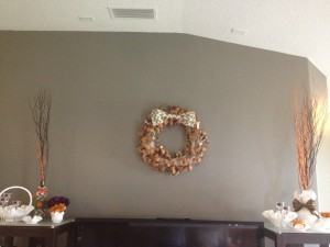 October Wreath of the Month: Birch Bark Wreath