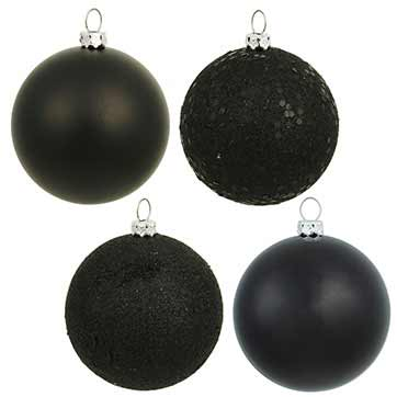 Black Christmas Ornaments.Black Christmas Ornaments Easy Home Decorating Ideas