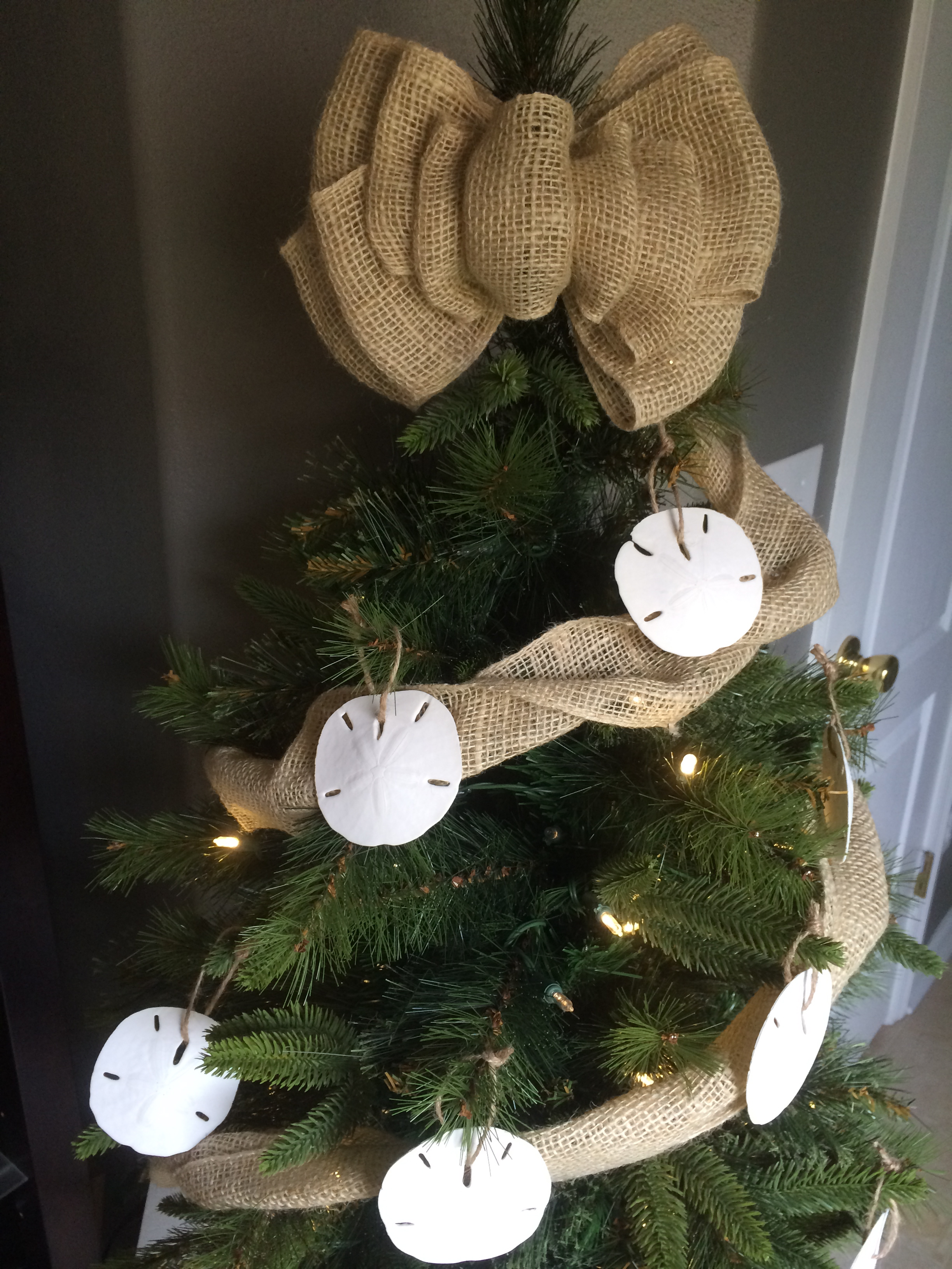 beach inspired christmas tree decorations