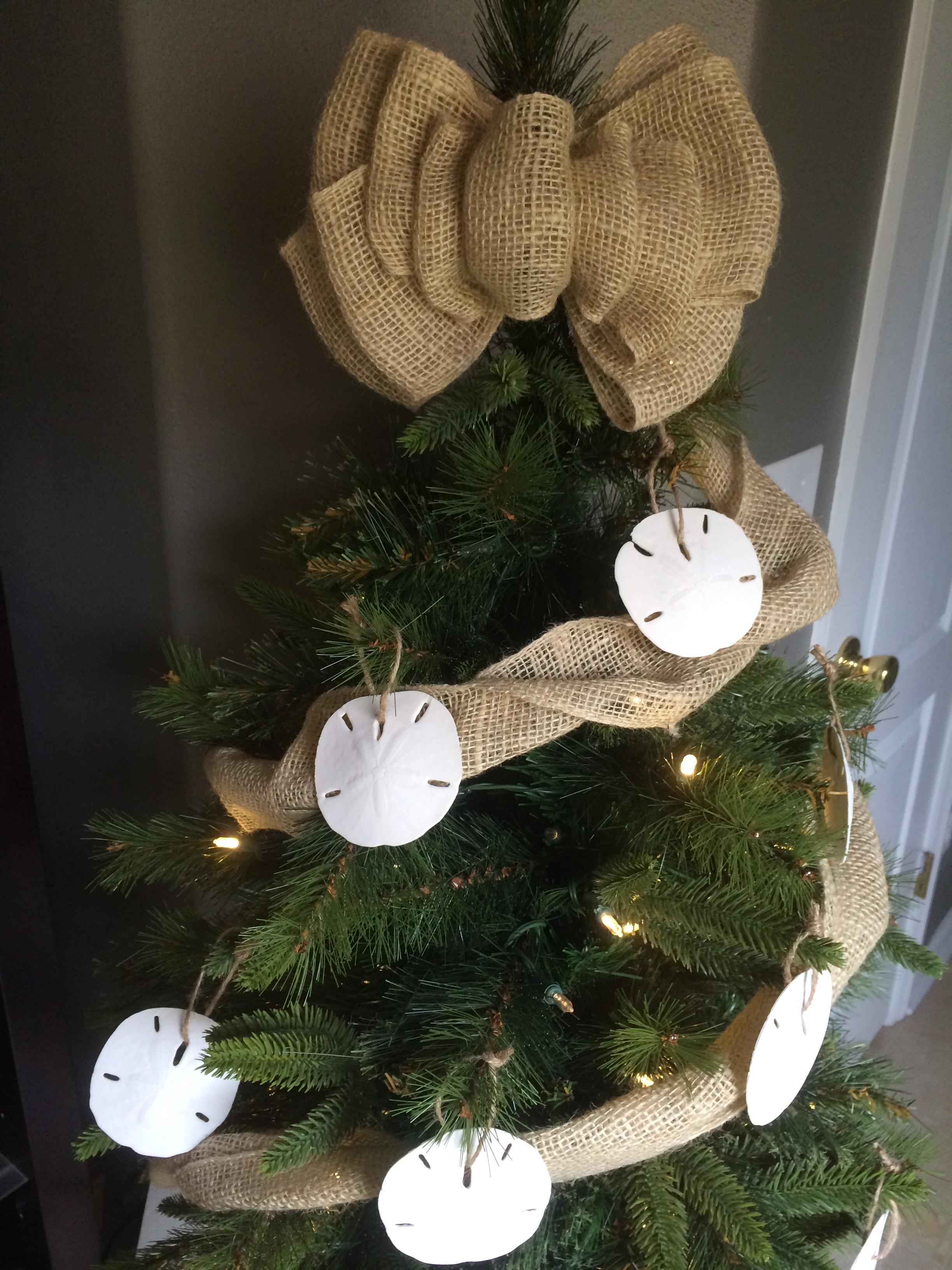 Beach themed christmas ornaments - Beach Inspired Christmas Tree Decorations