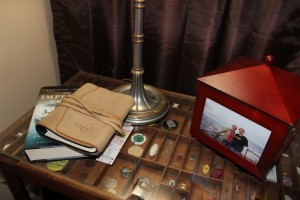 DIY- How to Make a Printer's Tray Side Table