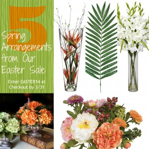 5 Beautiful Easter Arrangements from Our Easter Sale