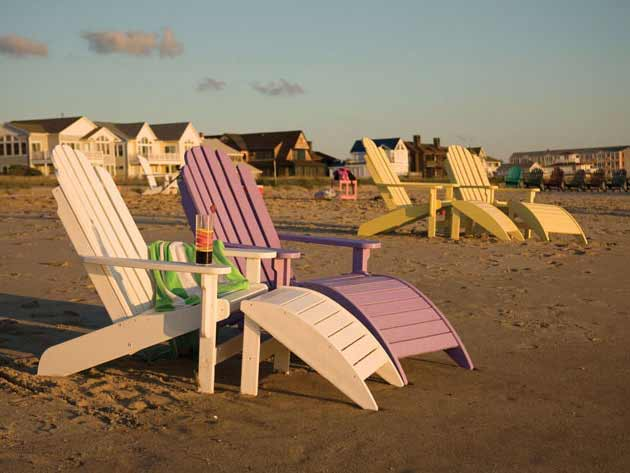 Siesta Bay Front Adirondack Chair