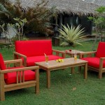 Anderson Teak South Bay Seating Area