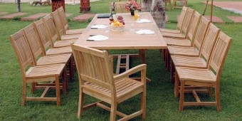 Anderson Teak Valencia Table and Chairs