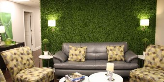 Boxwood Mat Wall