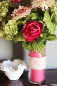 DIY Mother's Day Floral Arrangement