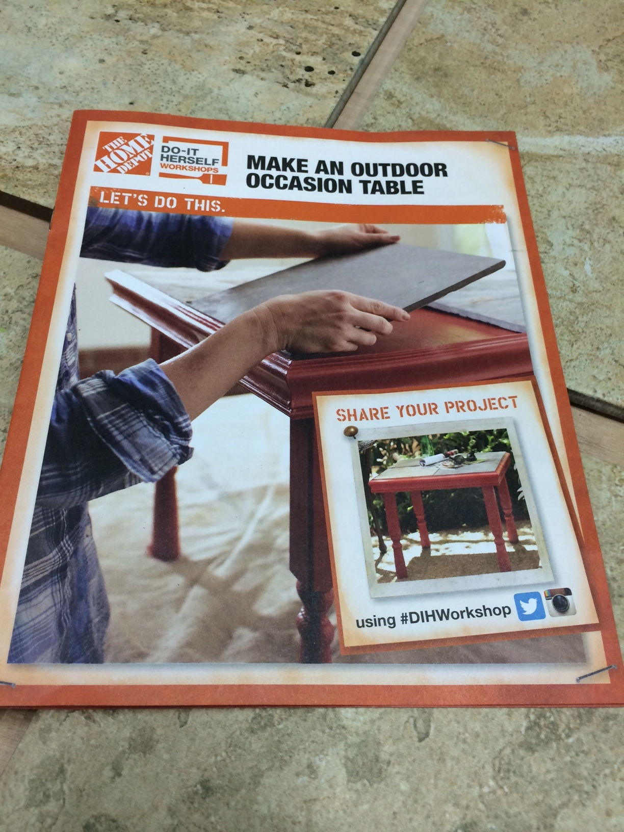 My Experience At The Home Depot Do It Herself Workshop