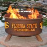 Florida State Patina Fire Pit