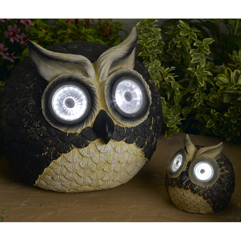 Mother And Baby Owl Lights