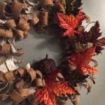 Birch Bark Fall Wreath