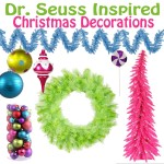 Dr. Seuss Inspired Christmas Decorations