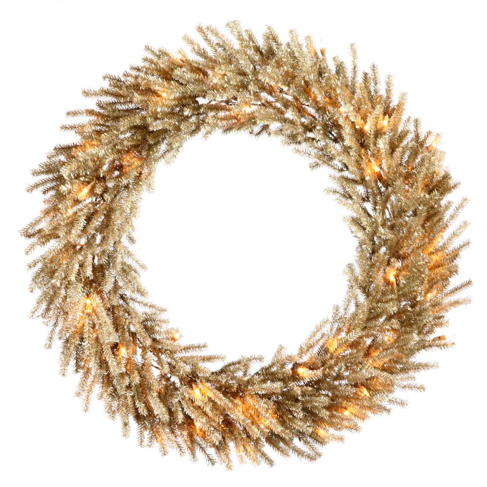 Mocha Christmas Wreath