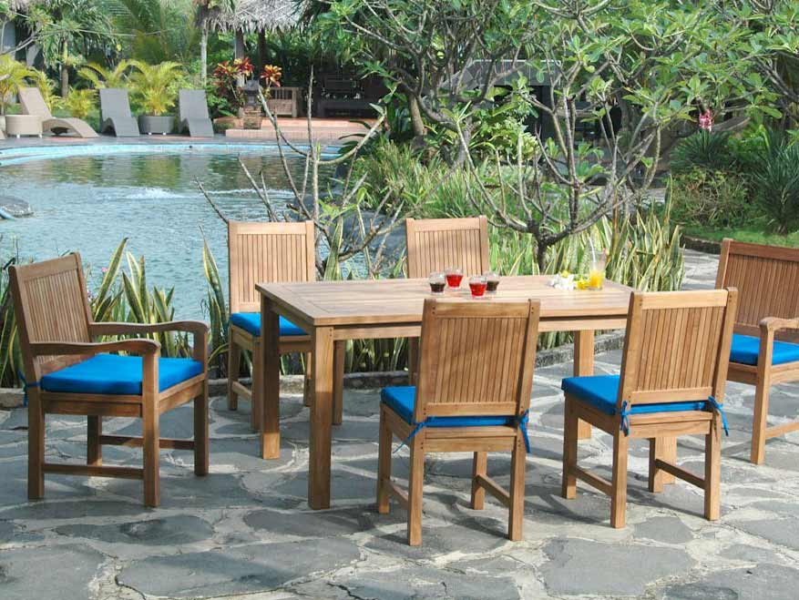 Anderson Teak Outdoor Dining Table Set