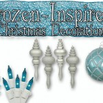Frozen-Inspired Christmas Decorations