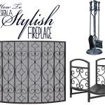 Design A Stylish Fireplace