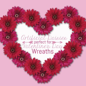 The Perfect Artificial Flowers for a Valentine's Day Wreath