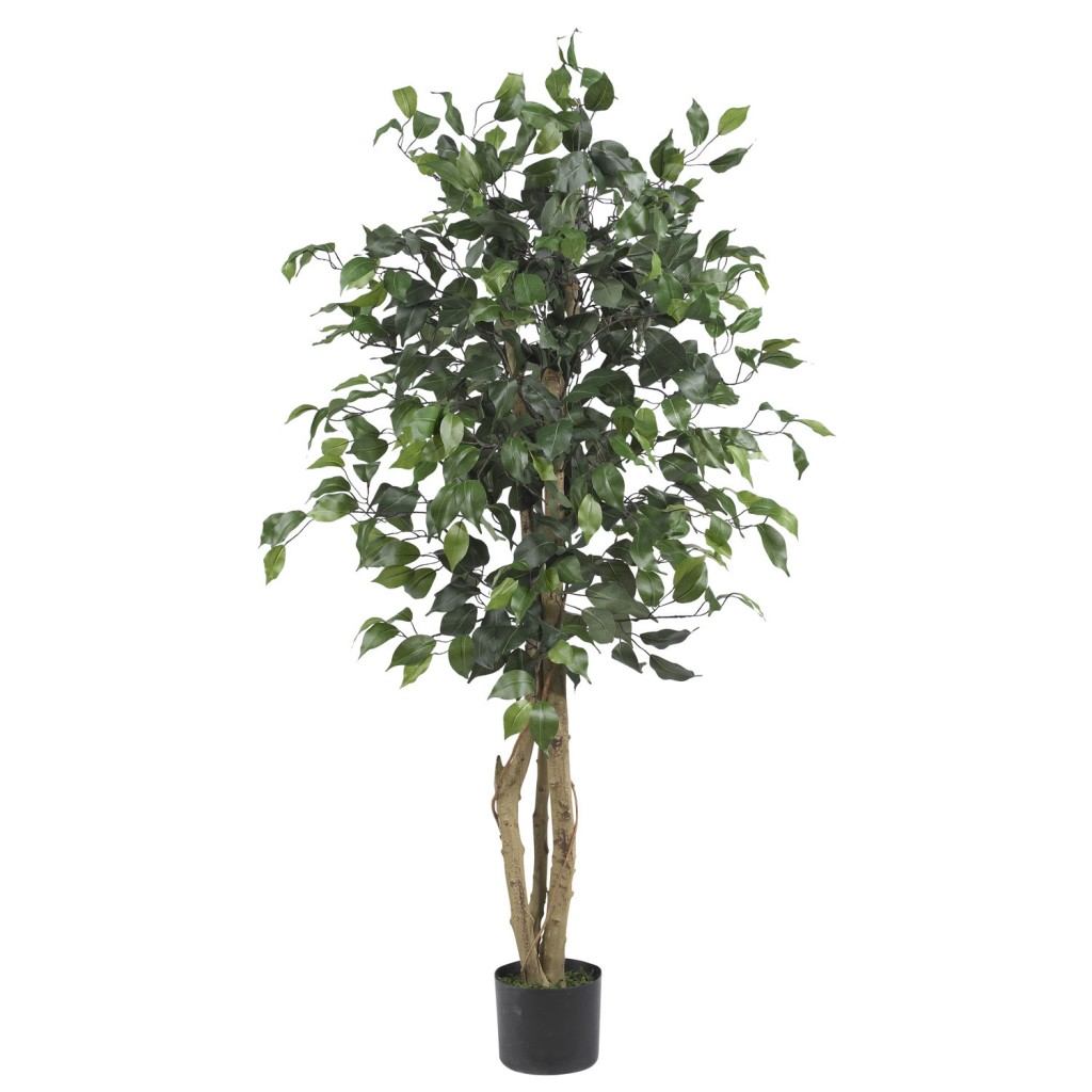 fake ficus tree diy lighted ficus 3659