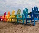 Colorful Adirondack Chairs