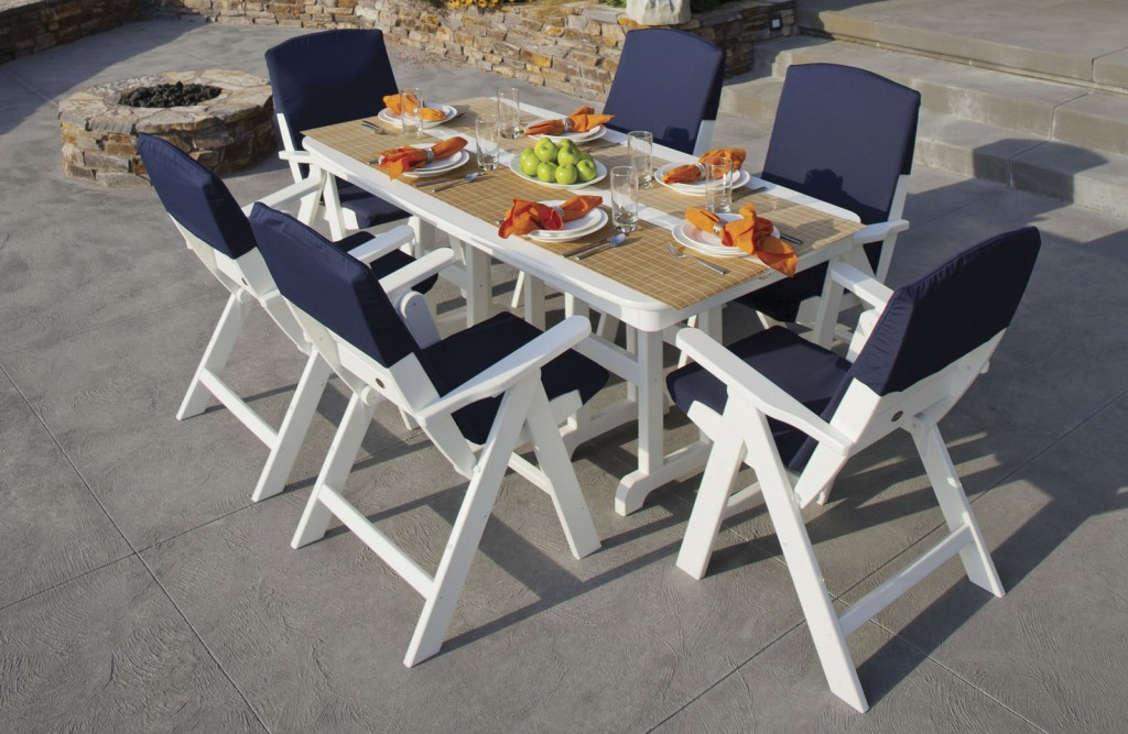 Nautical Dining Set by Polywood