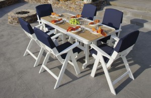 3 Inspiring Outdoor Dining Rooms with Polywood