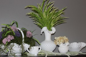 How to Create a Beautiful Spring Mantel