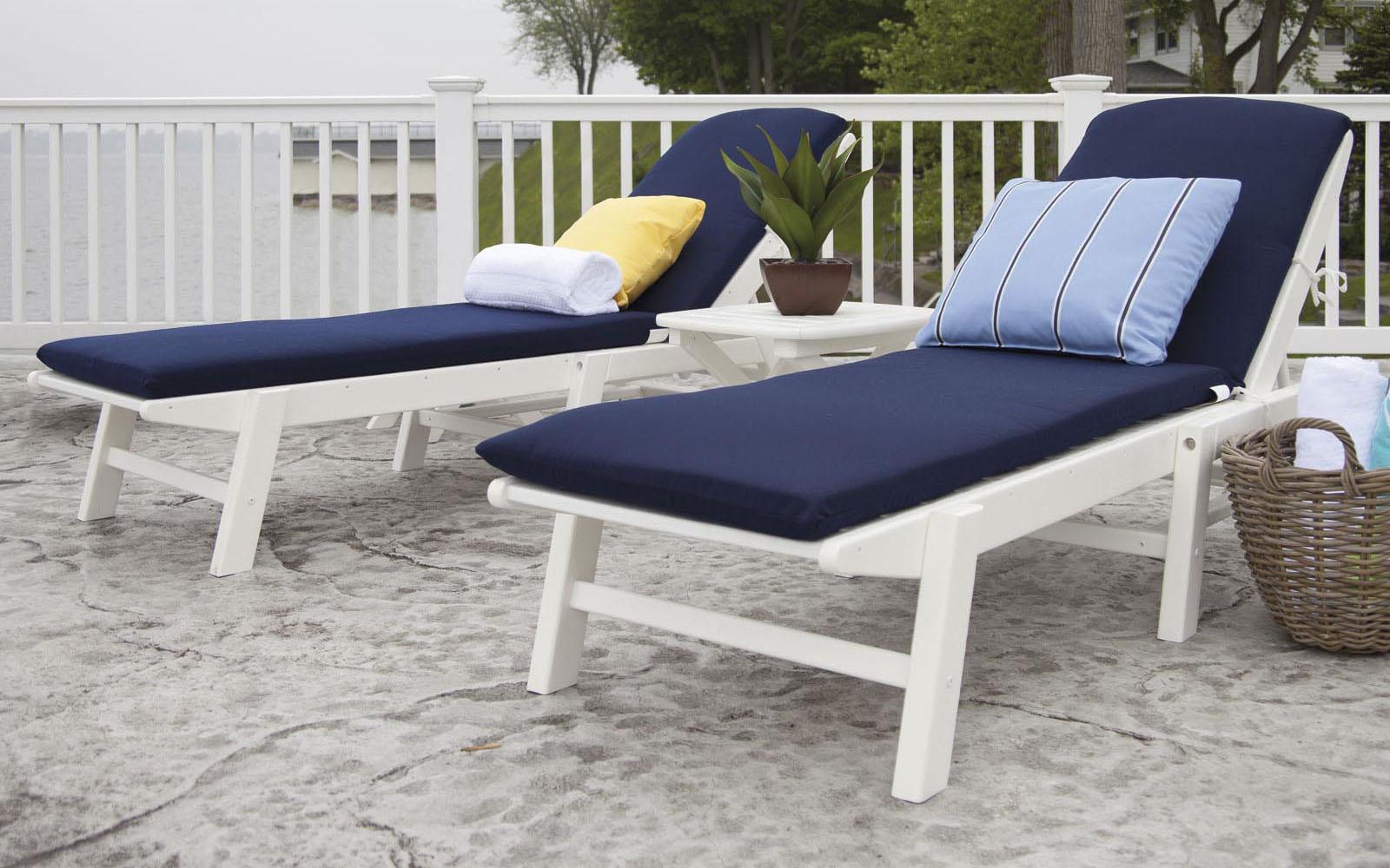 Polywood Chaise Lounge Set