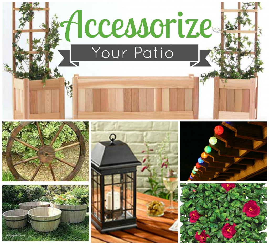 Accessorize Your Patio