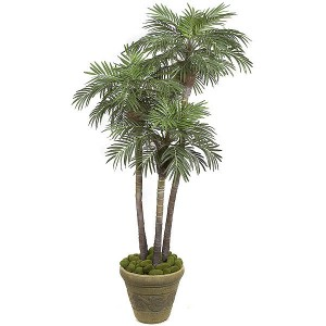 indoor artificial palm trees