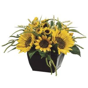 9-Inch Sunflower Arrangement