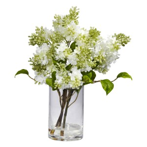 Silk Lilac Arrangement