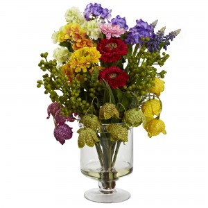 16-Inch Spring Floral Arrangement