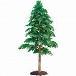 Artificial Cedar Tree Outdoors