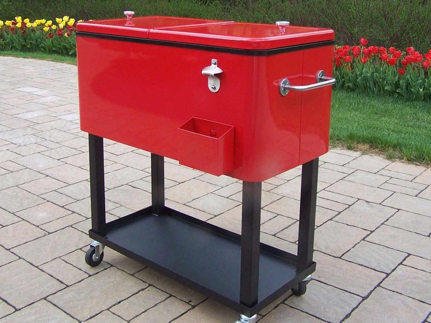 Beautiful Outdoor Cooler. The Perfect Patio Cooler