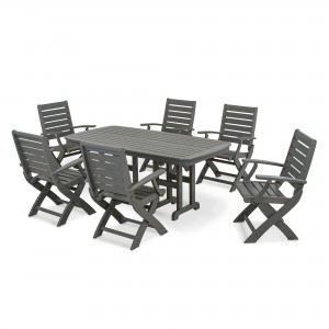 Decorate an Outdoor Dining Room with POLYWOOD