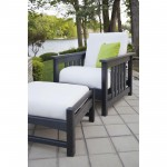 POLYWOOD Chair and Ottoman Set