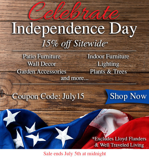 July 4th Furniture Sales: Independence Day Sale