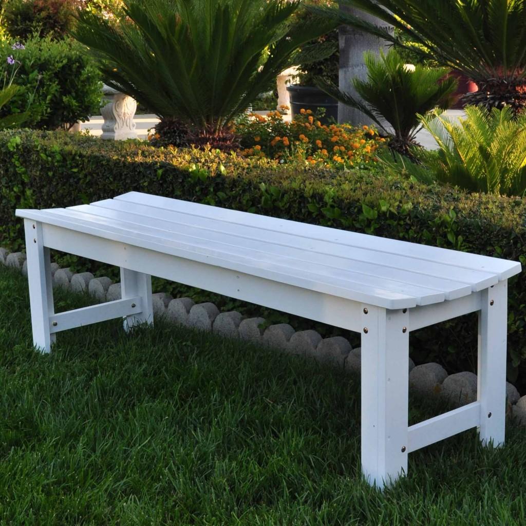 Shine Cedar Garden Bench