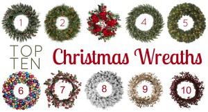 Top 10 Christmas Wreaths
