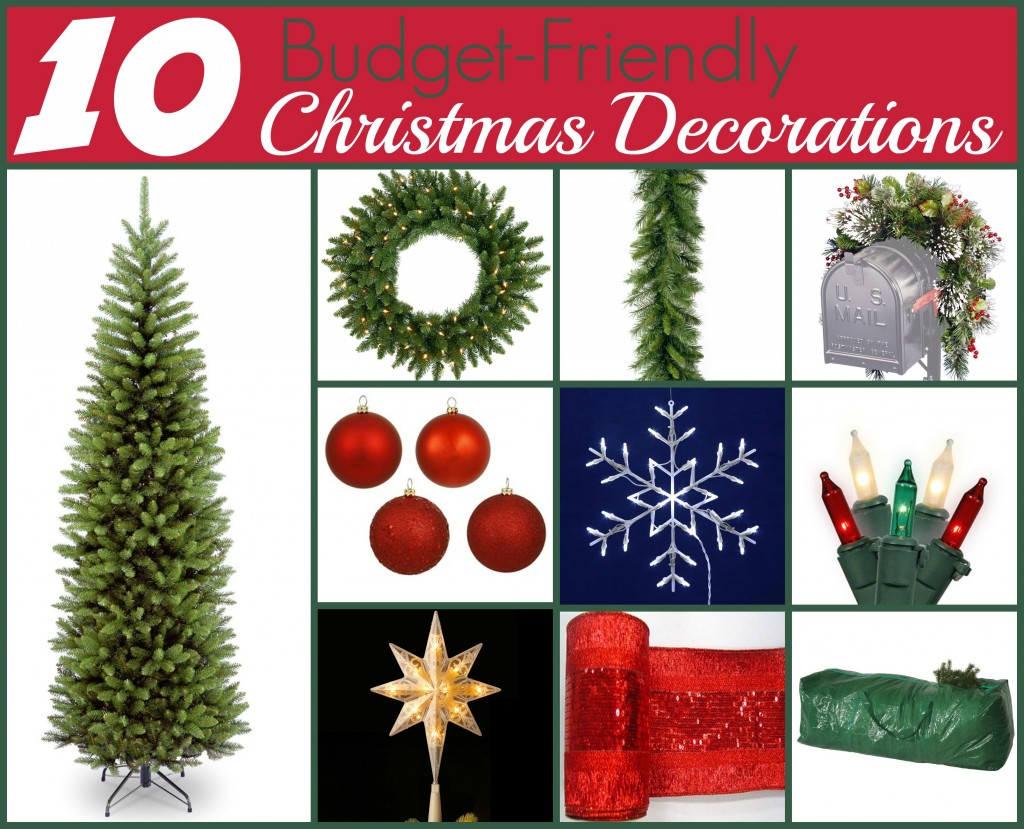 10 Budget-Friendly Christmas Decorations