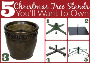 Christmas Tree Stands You'll Want to Own