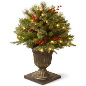 10 Places to Display the Christmas Entryway Bush