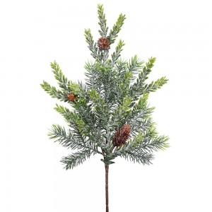 18-Inch Frosted Hemlock and Angel Pine Spray