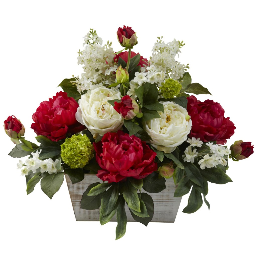 Christmas Floral Arrangements Youre Sure to Love : Mixed Floral Arrangement 1024x1024 from www.artificialplantsandtrees.com size 1024 x 1024 jpeg 162kB
