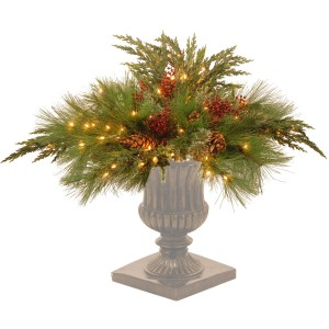 How To Create a Custom Arrangement with Christmas Urn Fillers