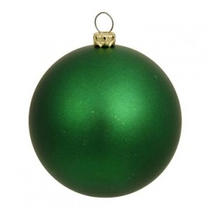 6-Inch Matte Finish Ornament