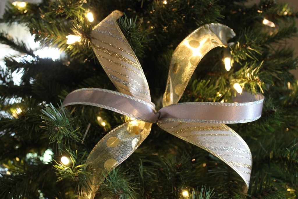 Diy Christmas Ribbon Picks
