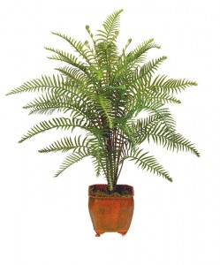 Five Fabulous Artificial Ferns